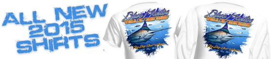 2015 Blue Marlin World Cup Shirts Available!