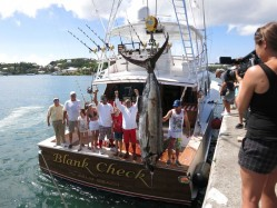 World Cup Blue Marlin Championship 2013 Winner - BLANK CHECK